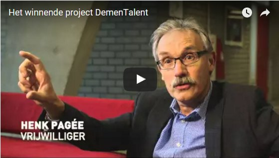 Film winnend project DemenTalent ROC
